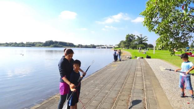 彩湖カヤック体験会42
