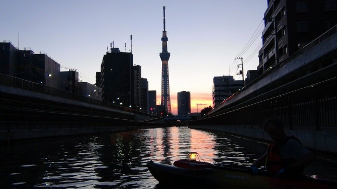 『隅田川花火大会』をカヤックで楽しんで来た!