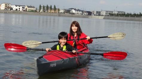 【家族で楽しむ!】越谷レイクタウンで青年会のカヌー体験!