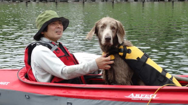 2017.5.7 dog canoe100