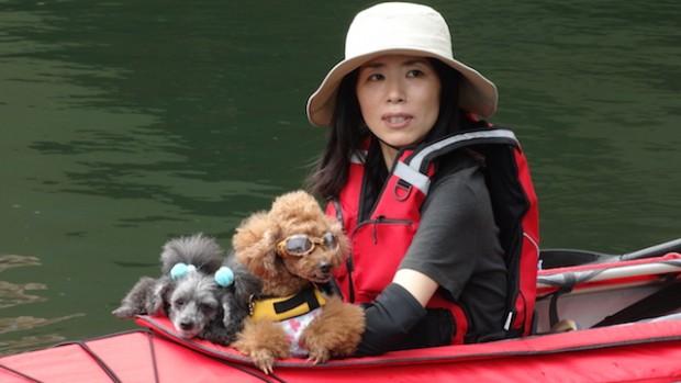 2017.5.7 dog canoe81