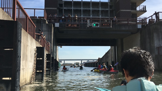 【2018 11月ワンちゃんカヌー!】荒川ロックゲートにワンちゃんとカヌー体験
